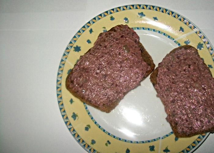 Pasta z czerwonej fasoli