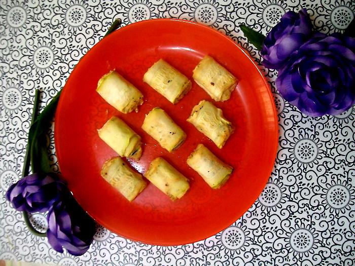 roladki z cukinii z serem