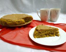 Owsiane ciasto dyniowe