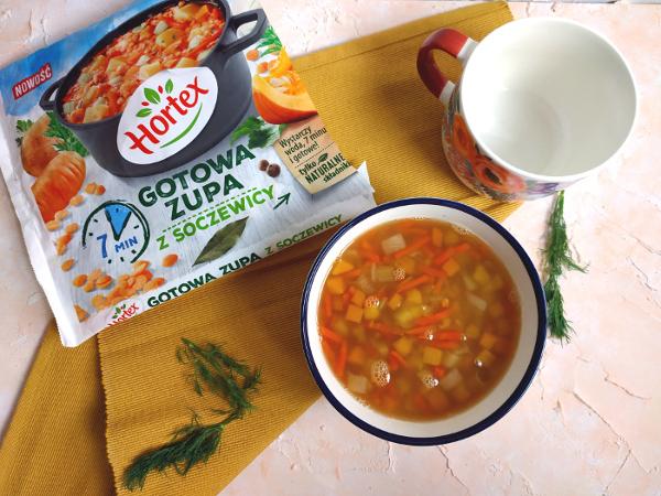 Gotowa zupa z soczewicy Hortex